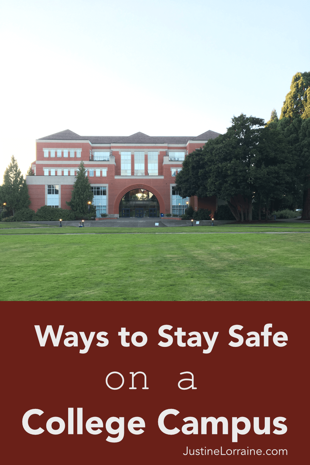 Campus Safety is important. How safe you feel on a college campus can vary drastically based on location. Here is how I make myself feel safer on campus.