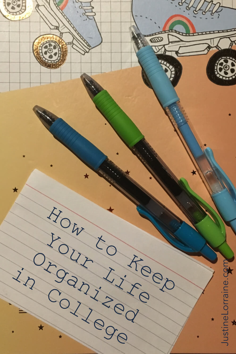 Staying organized in college is hard. Here are a few ways I stay organized.