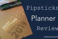 Pipsticks Planner Review