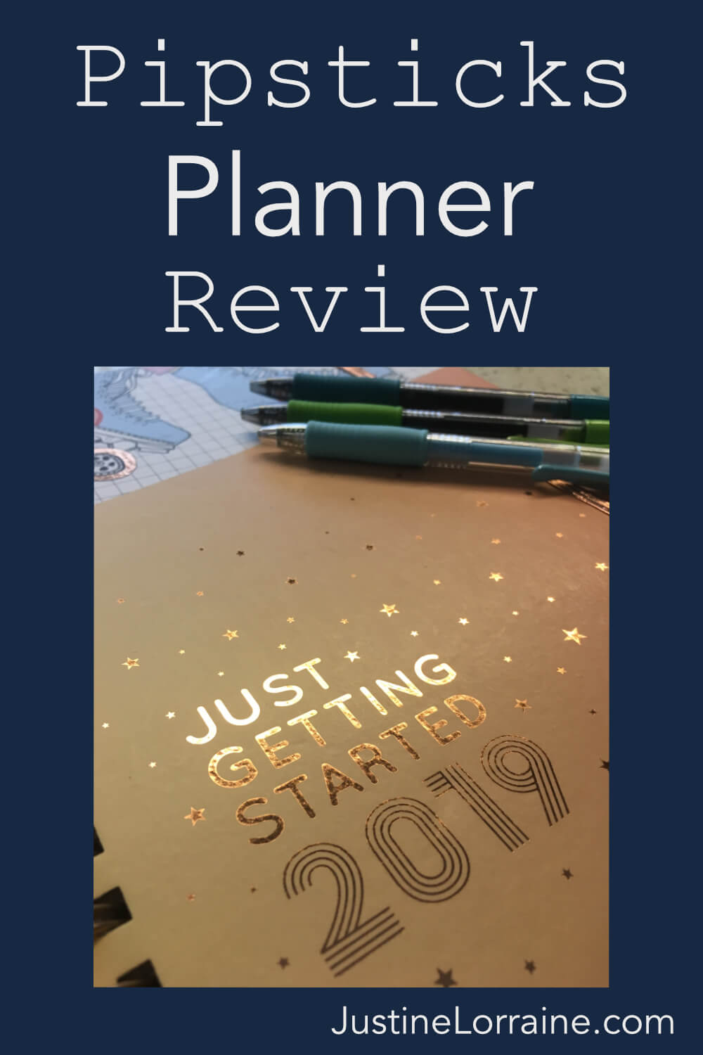 One of my favorite parts of back to school shopping is picking out my newest planner. This year I tried a Pipsticks brand planner. She is pretty dang nice.