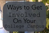 Ways to Get Involved on Your College Campus