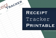 Receipt Tracker Printable: How to Keep Track of Spending