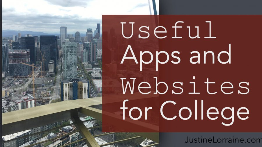 Useful Apps and Websites for College