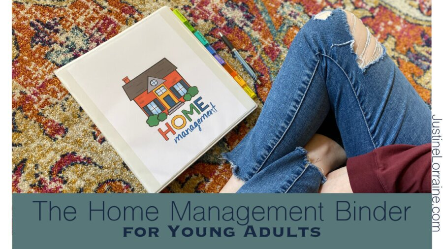Home Management Binder for Young Adults