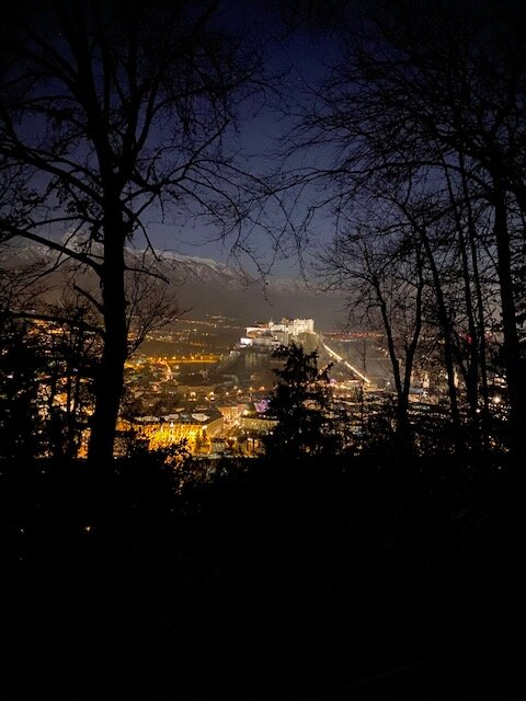Picture of a Fortress in Salzburg, Austria